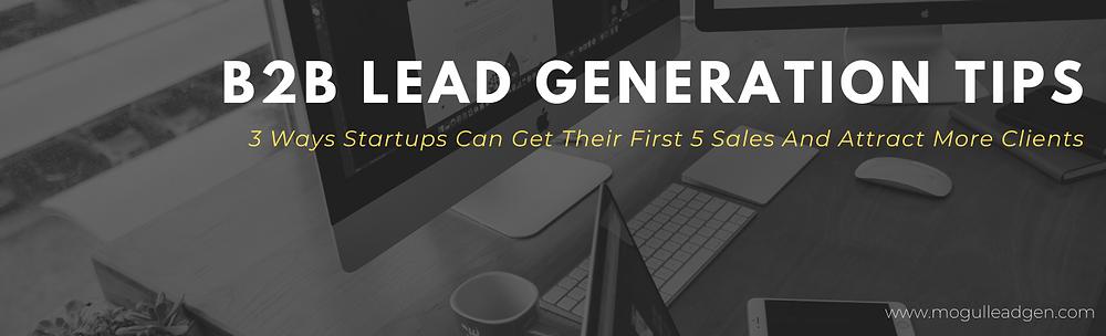 b2b lead generation tips