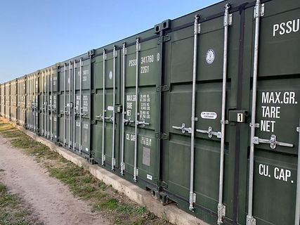 Self Storage Containers at Norfolk indoo