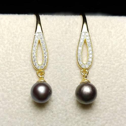 Droplet Earrings Gold