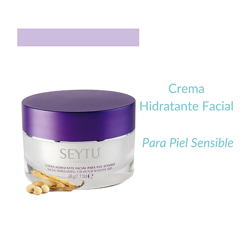 Crema Hidratante Facial para piel sensible