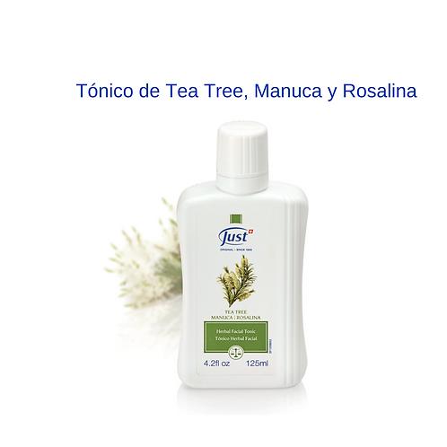 Tónico de Tea Tree, Manuca y Rosalina