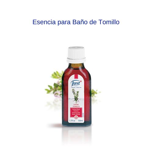 Esencia para Baño de Tomillo