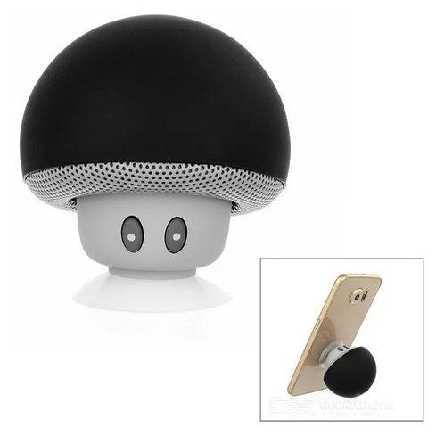 Mini bocina con bluetooth en forma de hongo