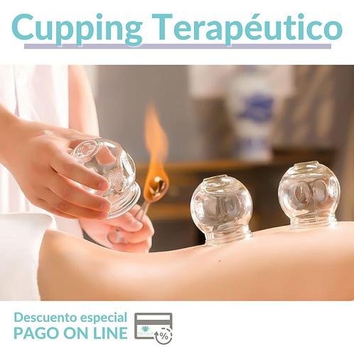 Cupping Terapeutico + Masaje Relajante