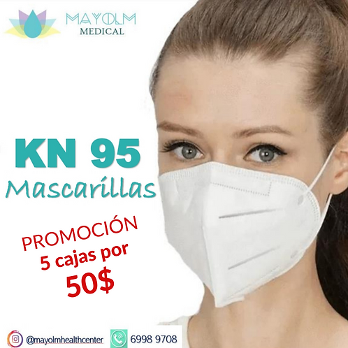 PROMOCIÓN ESPECIAL MASCARILLAS KN95 caja de 10 unidades