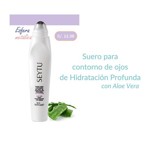 Suero para contorno de ojos de Hidratación Profunda con Aloe Vera
