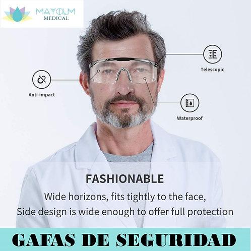 KIT DE SEGURIDAD (gafas, mascarillas y protectores de oídos)