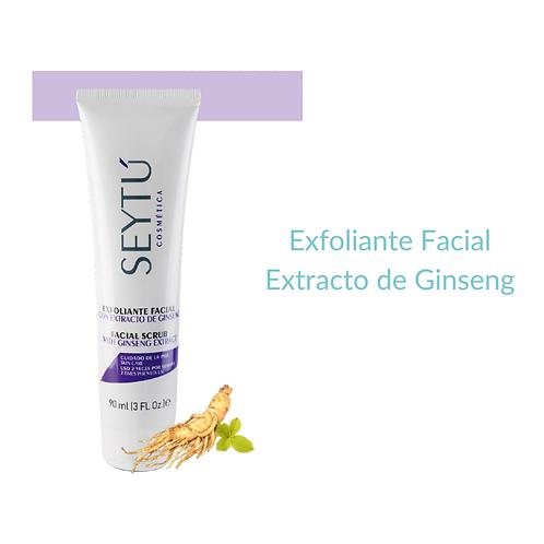 Exfoliante Facial Extracto de Ginseng