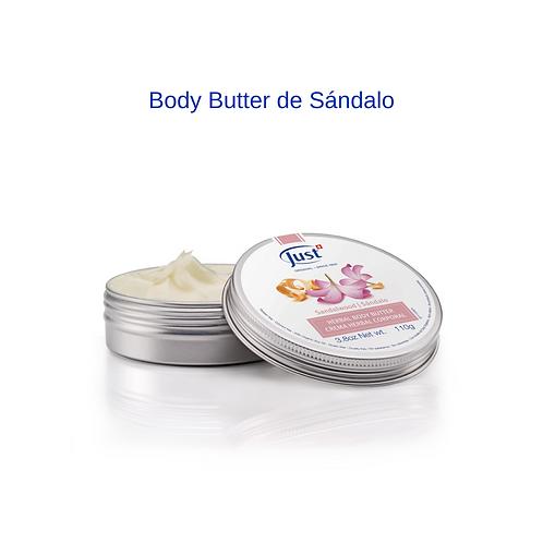 Body Butter de Sándalo