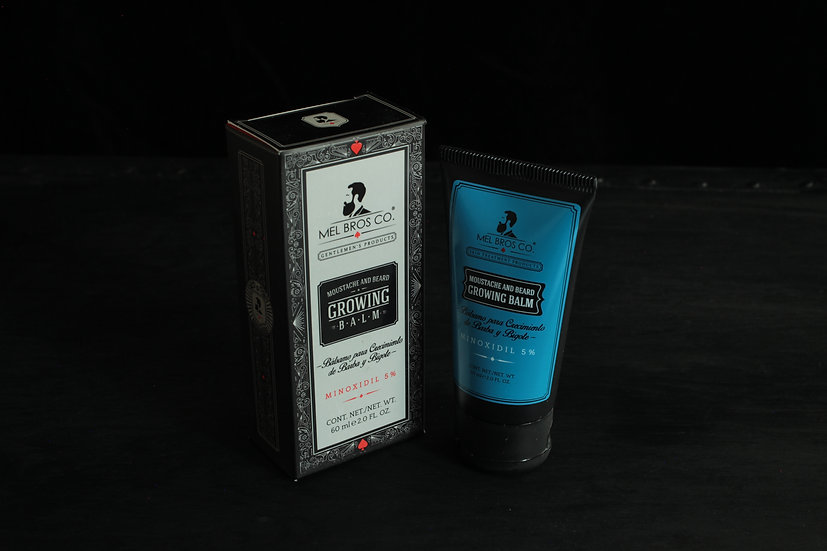 Mel Bros Co Moustache & Beard Growling Balm