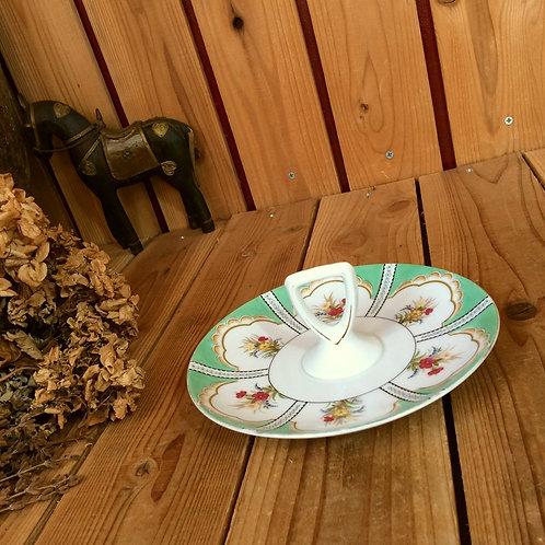ヴィンテージ1935年頃*オールド ノリタケ日本陶器*古いハンドル プレート