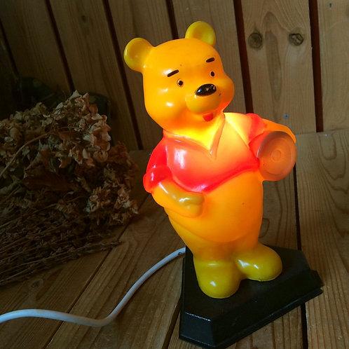 60-70'sヴィンテージ ディズニー クマのプーさんドールランプ