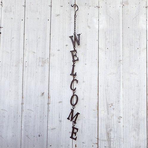 ハンギングサイン*WELCOME