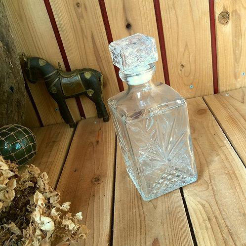 イタリア製*ウイスキー ガラス デカンタ