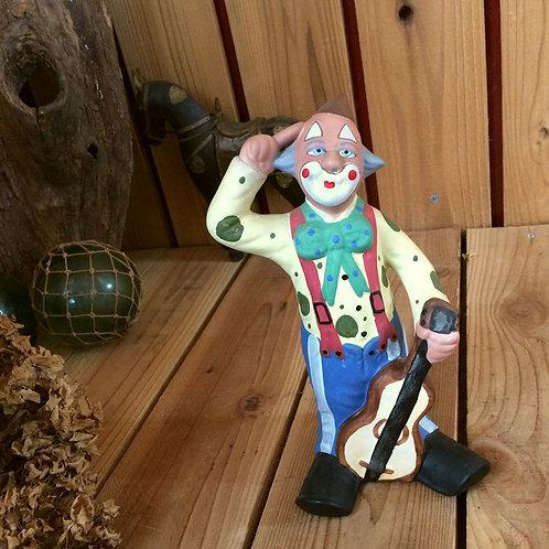 ≫ポルトガル製*ピエロの陶器テラコッタ人形