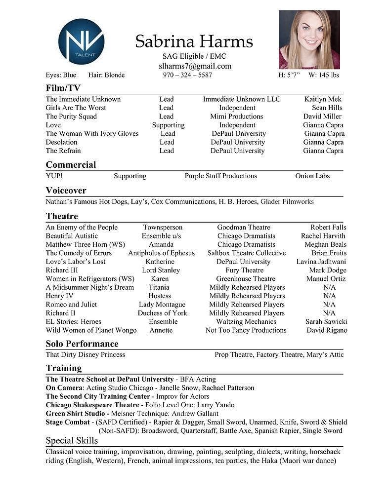 Sabrina Harms Film Resume -1.png