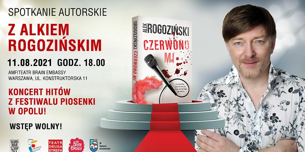 CZERWONO MI | Premiera książki Alka Rogozińskiego