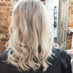 creamy blonde created by our hair experts using boreal professional products