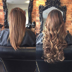 hair extension salon transform short fine hair into long luscious locks with beauty works hair exten