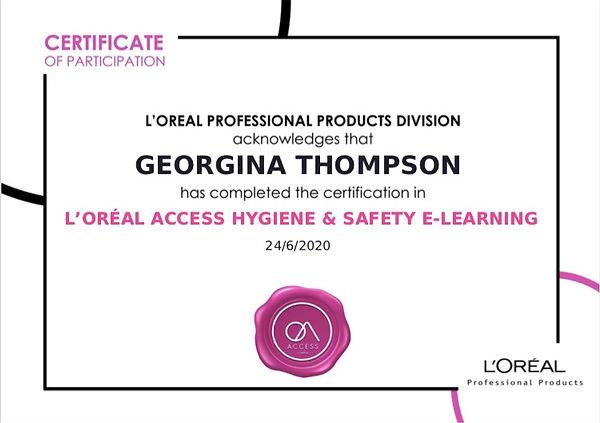 loreal certificate covidsecure.jpg