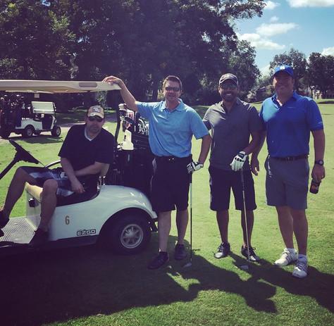 Adrian S. and golfers.jpg