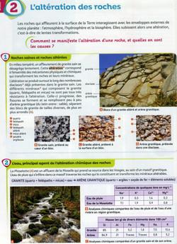 Activité 1 Altération des roches (1)