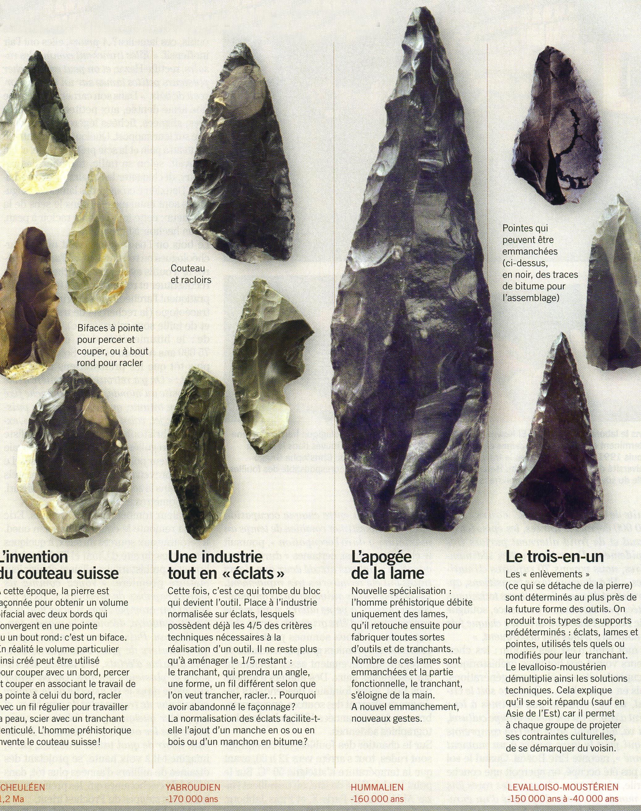 Outils préhistoriques
