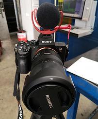 caméra tutoriel sony alpha 7