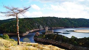 Barrage de Grangent, Loire, Rhône-Alpes, barrage
