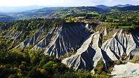 Ravin de Corboeuf, argile verte, Haute Loire, Auvergne, Emblavez