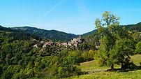 Chalencon, Haute Loire, Auvergne, village, médiéval