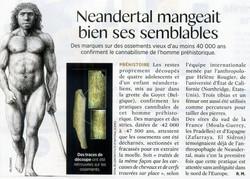 Néandertal cannibal