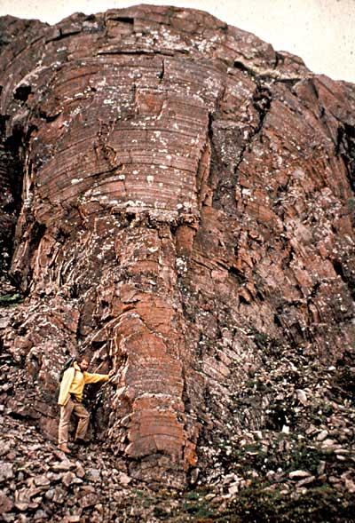 Canada stromatolite géante
