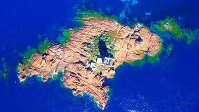 Cap Camarat, île d'Or, Esterel, Dramont, Esterellites, plage débarquement,
