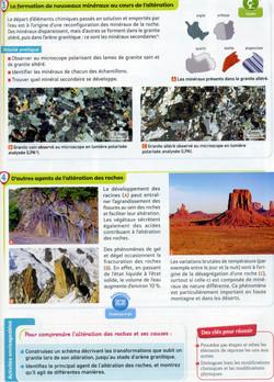 Activité 1 Altération des roches (2)