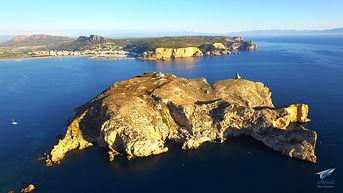 L'Estartit, les îles Medes, catalunya, Espagne