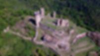 Rochebaron, château, ruines, Bas-en-Basset, Haute loire, Auvergne