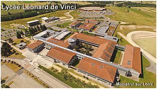 Vinci, Monistrol, Le Mazel, lycée, lycée Léonard de Vinci