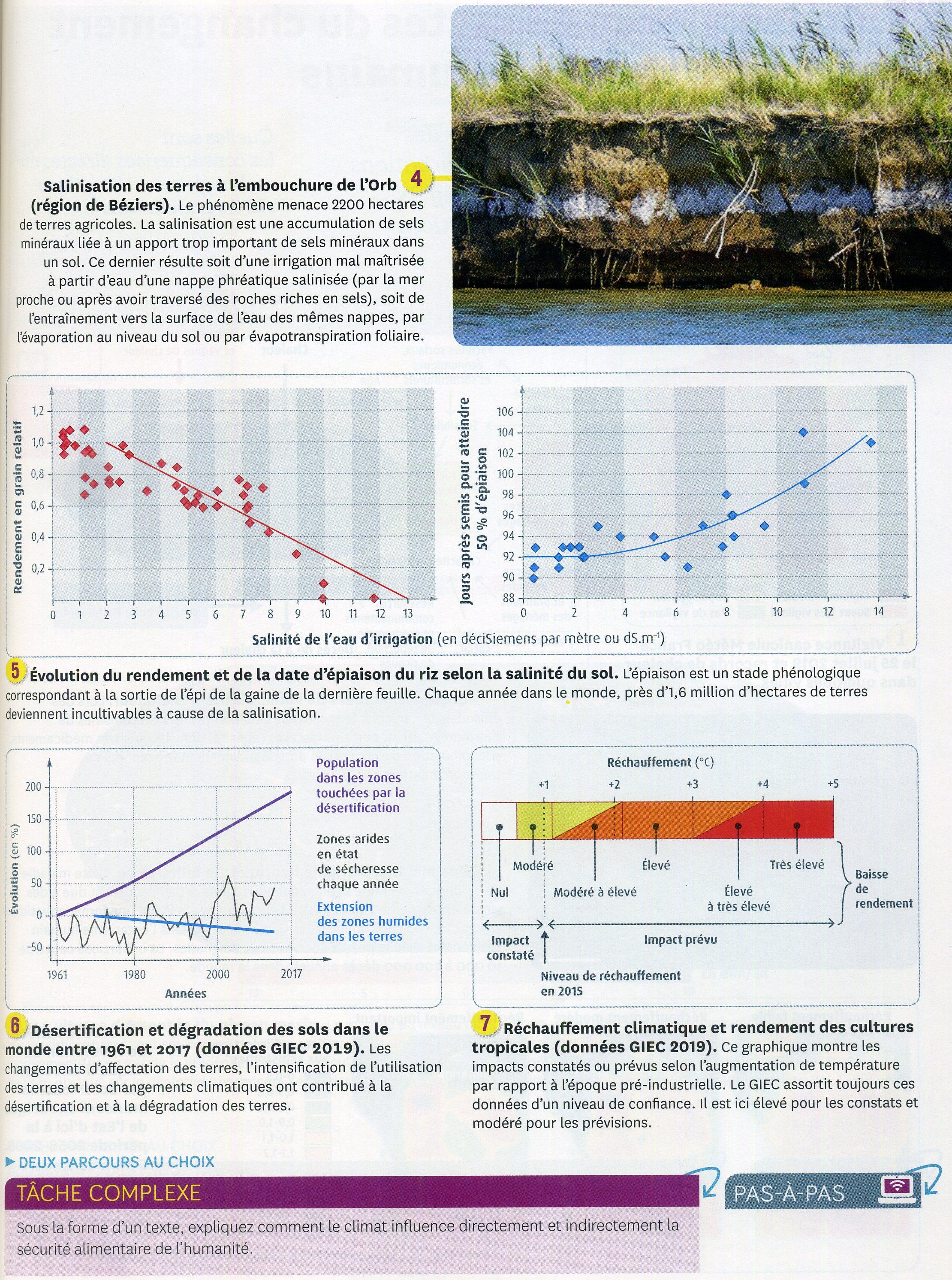 Activité 9 impact sur les agrosystèmes (