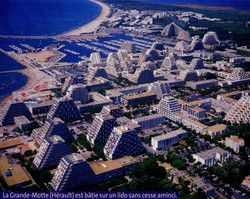 Urbanisation de la cote d'Azur