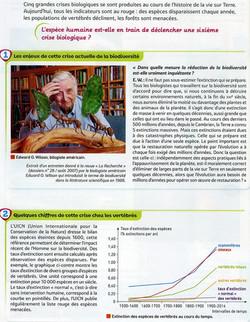 Act 15 La biodiversité actuelle s'effond