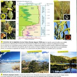 Biodiversité évolution d'un lac