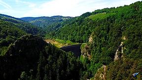 Barrage du gouffre d'Enfer, Loire, Rhône-Alpes, Rochetaillée