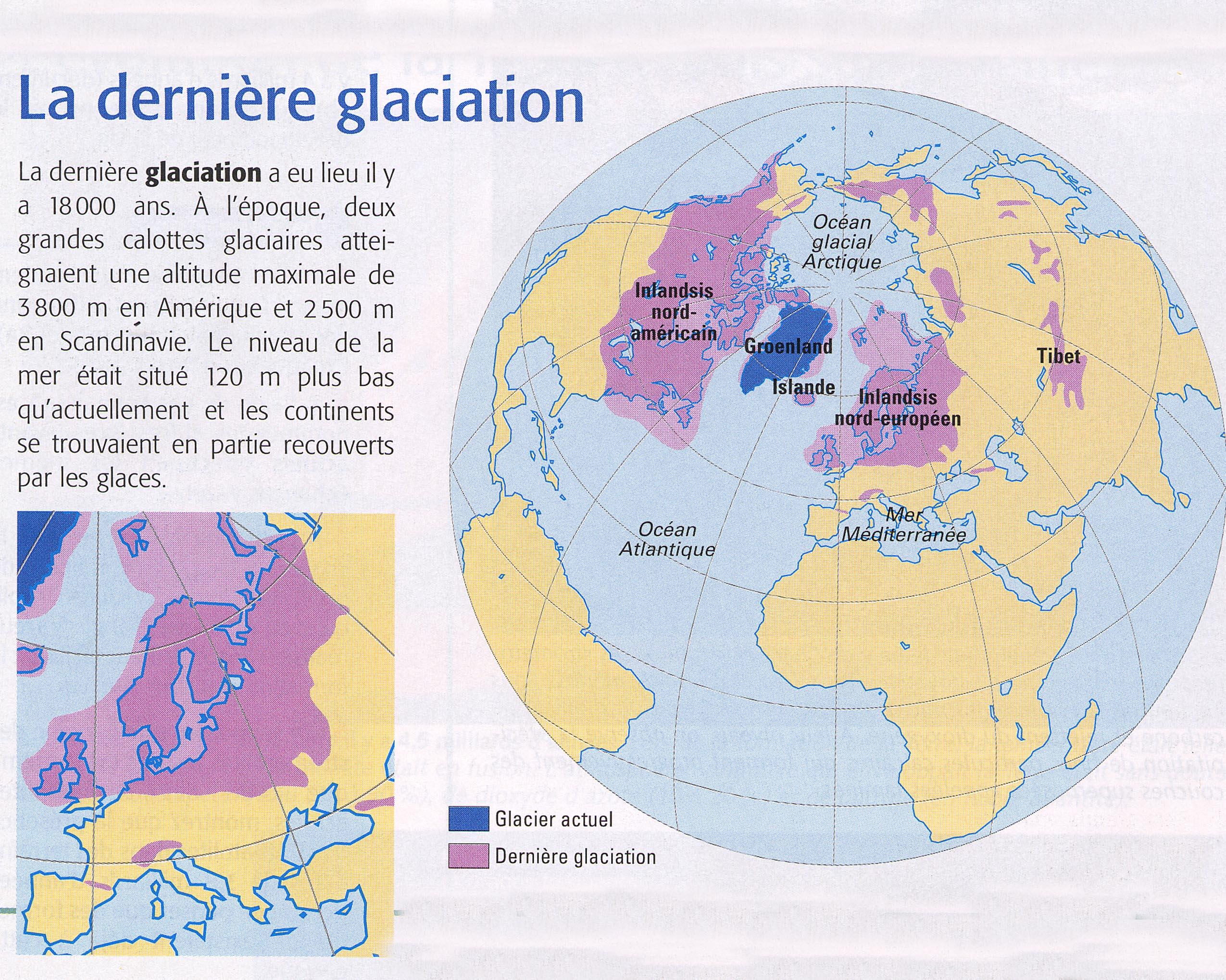 Dernière glaciation