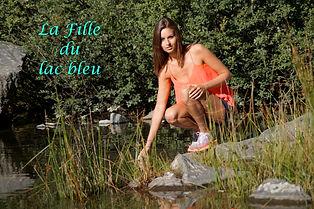 Le lac bleu, Haute Loire