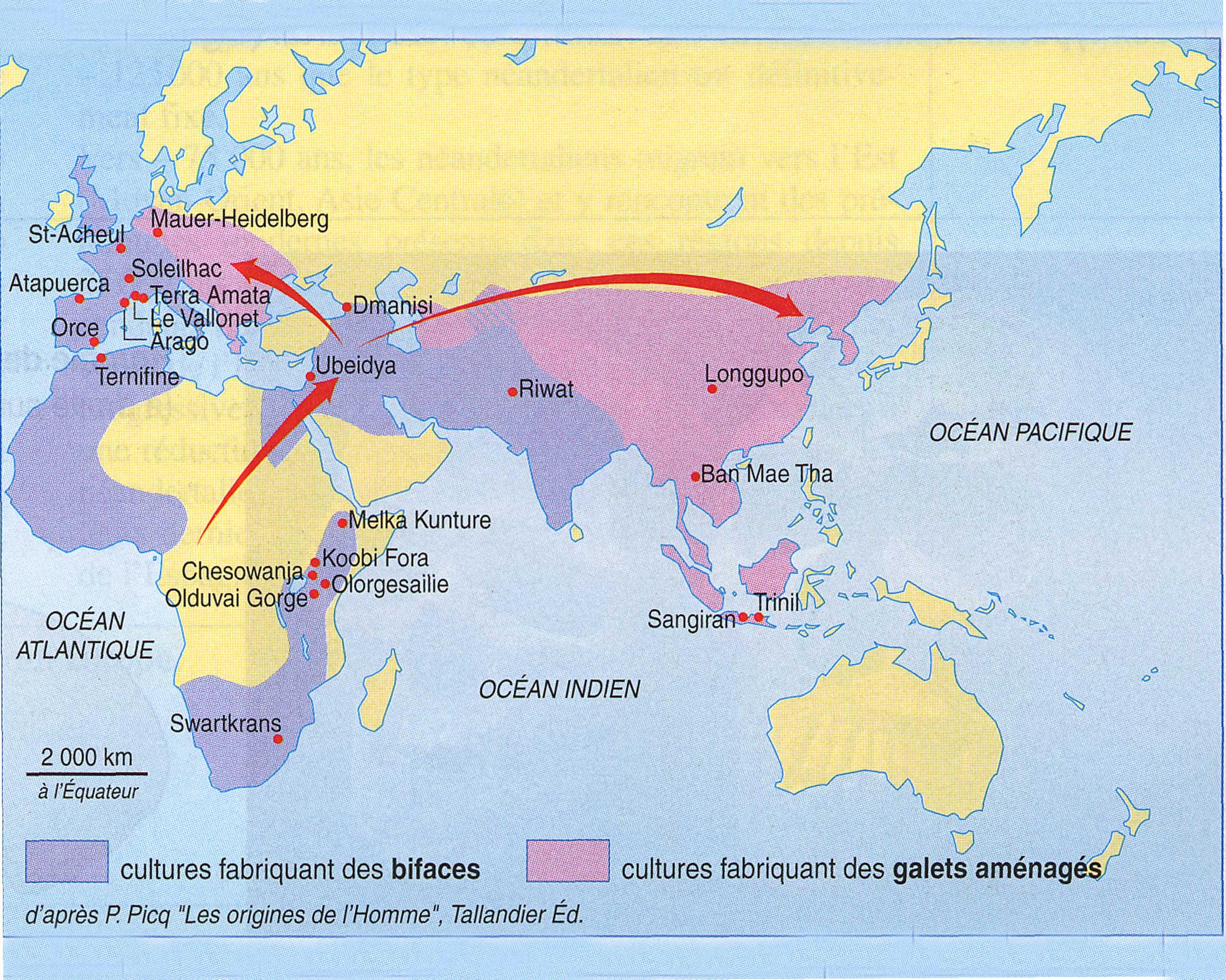 Colonisation europe et Asie