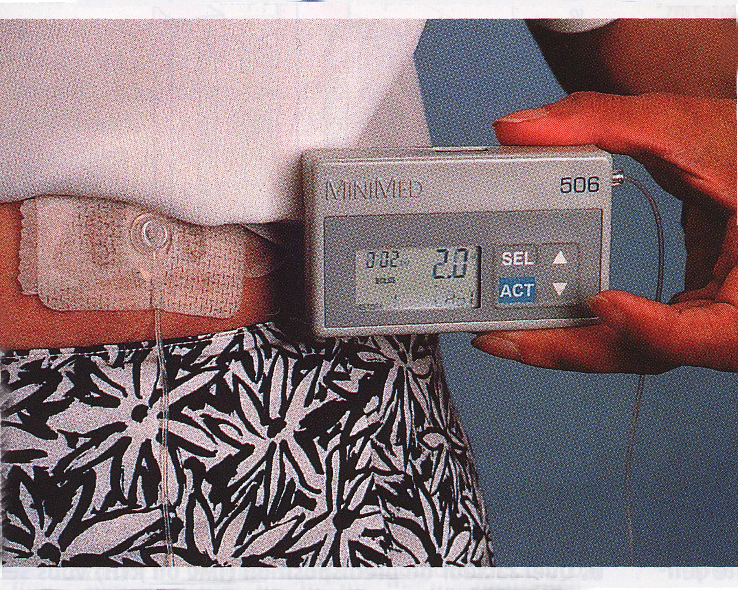 Pompe insuline autonome
