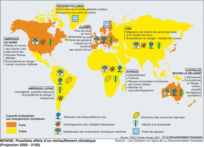 Adaptation aux changements climatiques
