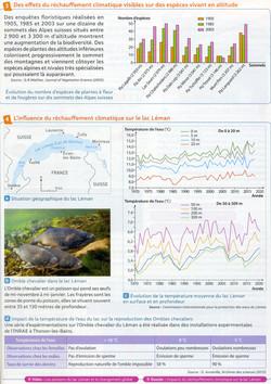 Activité 7 réchauffement et biodiversité
