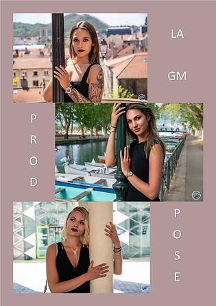 GMprod pose modèle shooting mode mannequin